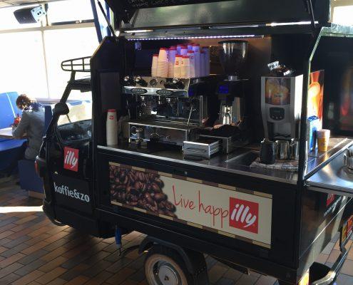 koffiekar huren den haag